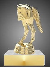 Horse Rear Last Place Trophy, 4
