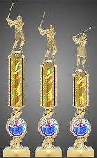 Golf Tournament Trophy with Your Logo - Starting at $11.50