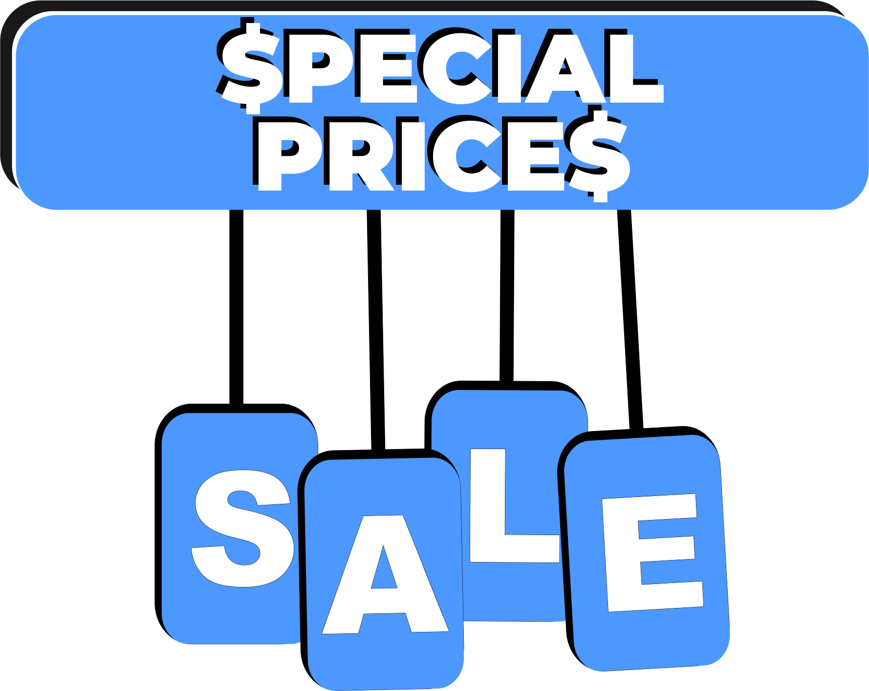 SPECIALS - CLEARANCE - EXTREME DISCOUNTS