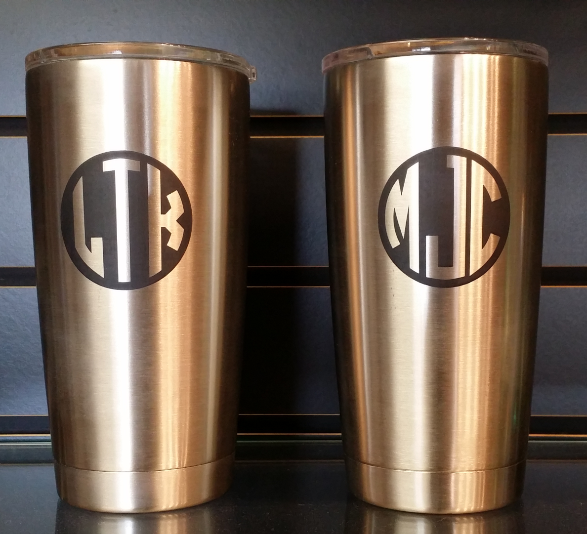 Personalized 20 Oz Yeti Stainless Rambler