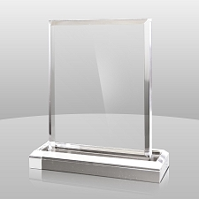 Clear Vertical Rectangle Series - 3 Sizes