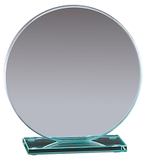 Circle Series Glass Award - 3 Sizes