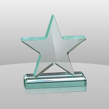 Jade Star Award - 3 Sizes - $37 - $50 - $60