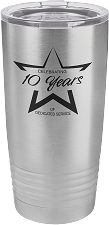 Personalized 20-oz Polar Camel Tumbler - Stainless