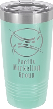 Personalized 20-oz Polar Camel Tumbler - Teal