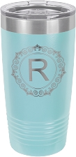 Personalized 20-oz Polar Camel Tumbler - Light Blue