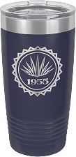 Personalized 20-oz Polar Camel Tumbler - Navy Blue