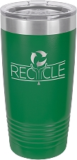 Personalized 20-oz Polar Camel Tumbler - Green