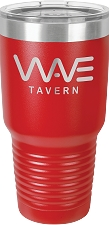 Personalized 30-oz Polar Camel Tumbler - Red