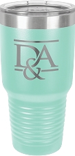 Personalized 30-oz Polar Camel Tumbler - Teal