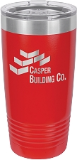 Personalized 20-oz Polar Camel Tumbler - Red
