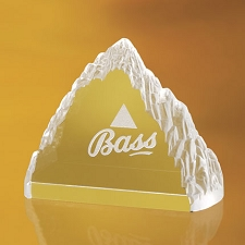 Everest Crystal Paperweight - 3 Sizes