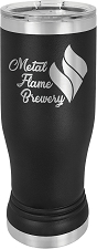 Personalized 14-oz Polar Camel Pilsner - Black