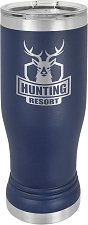 Personalized 14-oz Polar Camel Pilsner - Navy Blue