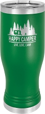 Personalized 20-oz Polar Camel Pilsner - Green