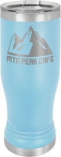 Personalized 14-oz Polar Camel Pilsner - Light Blue