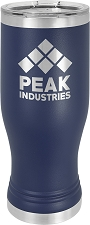 Personalized 20-oz Polar Camel Pilsner - Navy Blue