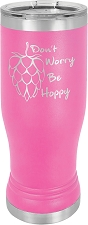 Personalized 14-oz Polar Camel Pilsner - Pink