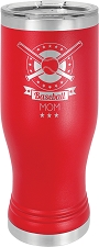 Personalized 20-oz Polar Camel Pilsner - Red