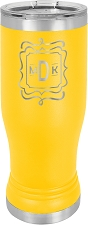 Personalized 14-oz Polar Camel Pilsner - Yellow