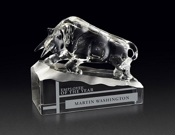 Crystal Taurus Award - 5-7/8