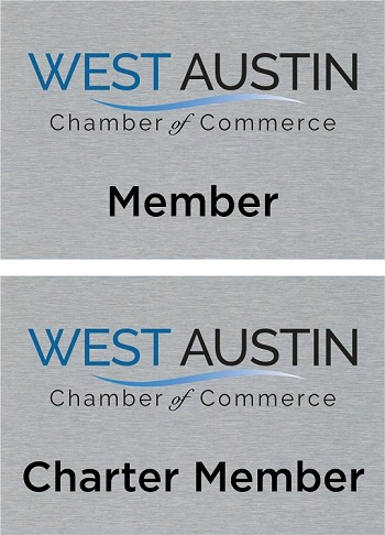 West Austin Chamber of Commerce 5x7 - PLATE ONLY