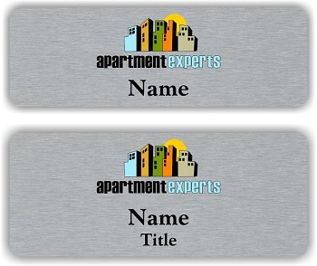 Apartment Experts Name Badge