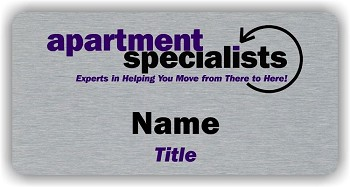 Apartment Specialists Name Badge