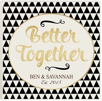 Better Together Glitter Art