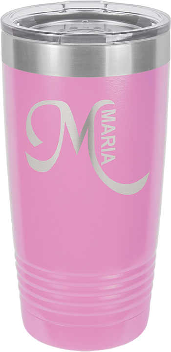 Personalized 20-oz Polar Camel Tumbler - Light Purple