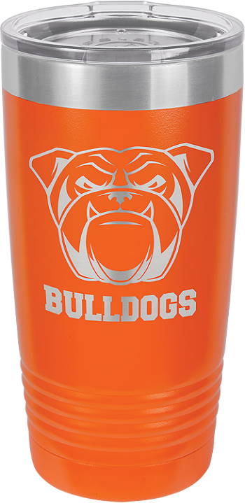 Personalized 20-oz Polar Camel Tumbler - Orange