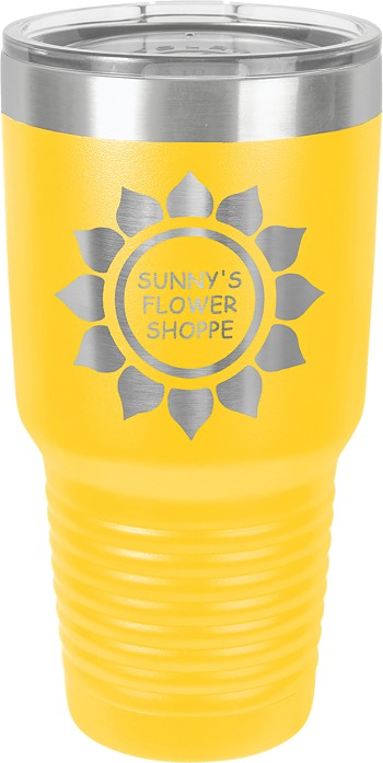 Personalized 30-oz Polar Camel Tumbler - Yellow