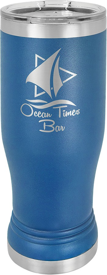 Personalized 14-oz Polar Camel Pilsner - Royal Blue