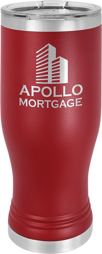 Personalized 20-oz Polar Camel Pilsner - Maroon